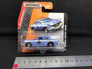 Matchbox Diecast Buick Police Car