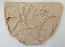 M & s taille 10 Floral Dentelle Bikini Briefs Slips Culottes Avec Modal naturel
