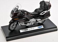 BLITZ VERSAND BMW K1200LT / K 1200 LT bordeauxe 1:18 Welly Motorrad NEU & OVP