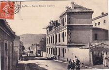 ALGERIE - BATNA - RUE DE BONE LA PRISON - 10c SEMEUSE OBLITERATION CONSTANTINE.