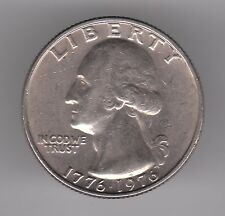 United States 25 Cents Quarter 1976 Copper-Nickel Clad Copper Coin - Colonial Dr