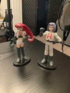 Jesse and James Team Rocket Vintage Pokemon Action Figure Toy