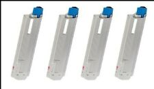 4 X Toner Ensemble Pour OKI c801 c801n c801dn c821n c821dn comme 44643004 à 44643001
