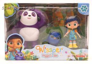 Wissper Spielset Peggy und Dan Figurenset Figuren Simba NEU