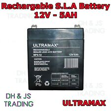Ultra Max 12V 5AH Battery Alarm Security Response Solar Alarm & Bell