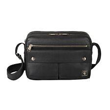 Shoulder Bag Black Canvas PU coating MORI 11285-00301 PORTER INTERNATIONAL