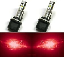 LED 30W 880 H27 Red Two Bulbs Fog Light Replacement Show Use Lamp Off Road
