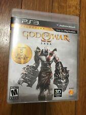 God of War Saga (Sony PlayStation 3, 2012) NO DLC