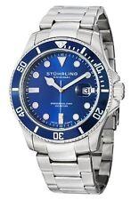 Stuhrling Original 417 03 Men's Aquadiver Regatta Espora Swiss Quartz Watch