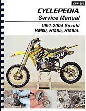 Suzuki RM80, RM85, RM85L Service Manual: 1991-2004