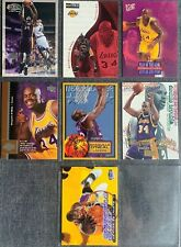 Shaquille O'Neal (Lakers) 13 Basketball-Common-Card Lot