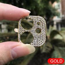For iPhone 12 11 Pro Max Camera Protector Luxury Diamond Glitter Back Case Cover