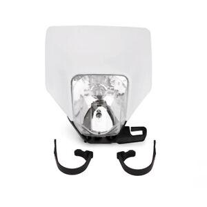 Headlight Head Lamp Kit For TC250 FC450 TE250 FE450 YZ85 Universal Motorcycle