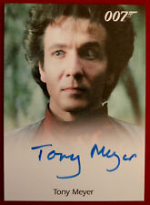 JAMES BOND - OCTOPUSSY - TONY MEYER as Grischka - Autograph Card, Rittenhouse