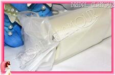 IVORY 30cm x 92m Organza Roll Shimmering Sheer Wedding Fabric Drape Bow Tulle