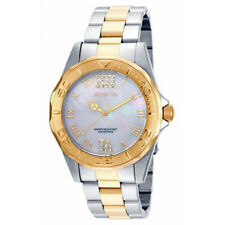 Invicta Women Pro Diver Analog Quartz 200m Two Tone Stainless Steel Watch 17871