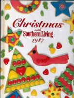 Christmas with Southern Living 1987 Annual Hardcover Recipes Decor Crafts