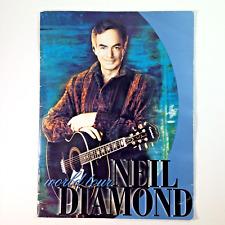 Neil Diamond World Tour Program