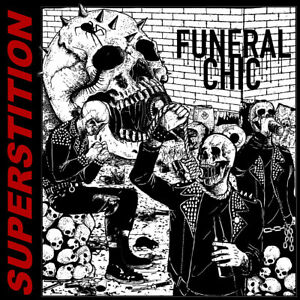 Funeral Chic Superstition CD 2018 Hardcore Black Metal New