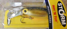 "Storm Hot 'n Tot 2"" - Gold/Chartreuse Specks, Bass Cod Redfin, fishing lure"