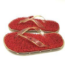 Sanuk~Flip Flops~Women's Size 7~Thong~Waterproof~Beach~Shower~Cushioned~Noodle~