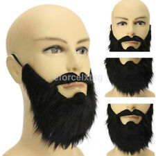 new fancy dress pirate dwarf elf fake beards halloween costume party moustache