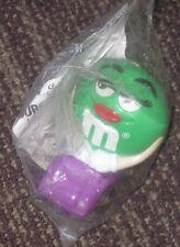 1997 M&M Burger King Toy - Green M&M in Car