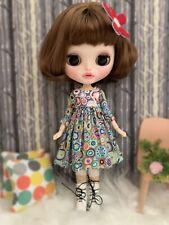 Doll dresses for 12 inch Blythe doll Blythe dress Rosie Handmade