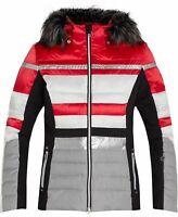 McKinley Damen Snowboard- / Skijacke Safine Diliana rot weiß schwarz