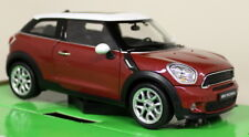 Nex 1/24 Scale BMW Mini Cooper Paceman Metallic Red Diecast Model Car