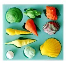 Beach Sea Shells Estate in Silicone Torta Stampo Ocean Seashell Fondente Baking Mold