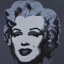 Marilyn Monroe (Marilyn), 1967 (black) by Andy Warhol Art Print Poster 11x14
