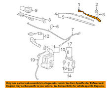 GM OEM-Window Windshield Wiper Arm 25945095