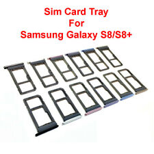 OEM Original Dual Sim Card + Micro SD Holder Slot Tray For Samsung Galaxy S8 S8+
