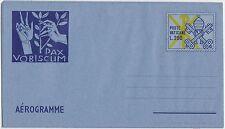 VATICANO AEROGRAMMA AEROGRAMME 200 LIRE PAX VOBISCUM 18/4/1977 NUOVO A14