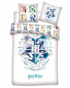 Duvet Cover Microfiber Hogwarts Harry Potter Bed 35 3/8in 140x200cmB