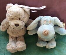 TU Teddy bear & Next Beannie Dog Soft Plush Toys