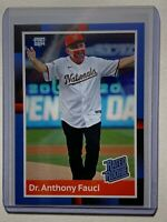 Dr. Anthony Fauci Pro Gem Custom Baseball Card Rated Rookie design -  In Hand!