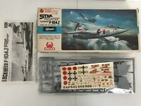 Hasegawa Star fighter Lockheed F-104J Japan Air Force Model Kit - Complete (40