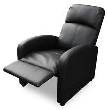 KMH® Fernsehsessel schwarz Relaxsessel TV Sessel Relaxstuhl Relaxliege Stuhl