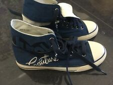 Juicy Couture New & Genuine Ladies Royal Blue Canvas High Tops UK 3.5 EU 36.5