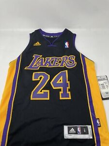 Adidas Kobe Bryant Los Angeles Lakers NBA Swingman Youth Jersey Small