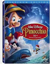 Pinocchio Walt Disney 70th Anniversary Platinum Edition DVD 2 Discs Sealed New