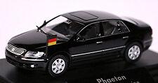 VW PHAETON kanzler-limousine 2002-07 NERO 1:87 Wiking MODELLO PUBBLICITARIO