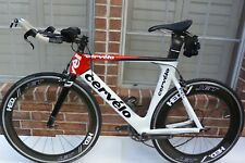 Cervelo P2C 56cm Dura Ace 10 Speed Carbon Aero Triathlon Bike(NO WHEELS)