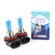Audi A4 B6 55w ICE Blue Xenon HID Front Fog Light Bulbs Pair