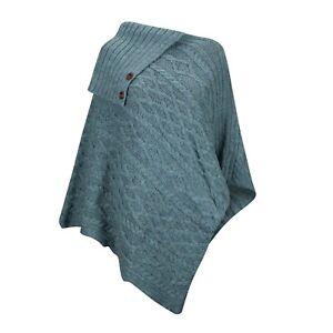 Wool Poncho, 100% British Wool.