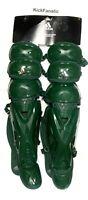 "Adidas Pro Series S98303 17"" Baseball Catchers Leg Guards 2.0 Triple Knee Green"