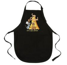 disney parks epcot france ratatouille remy say cheese kitchen apron new w  tags
