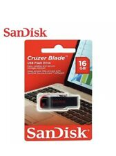 4 X SanDisk Cruzer Blade 16GB USB 2.0 Flash Drive Key Pen Thumb Memory Stick